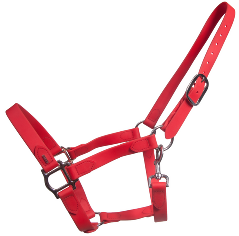 SuperStrap Rubber Halter - Red