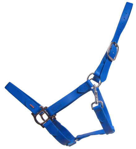 SuperStrap Rubber Halter - Blue