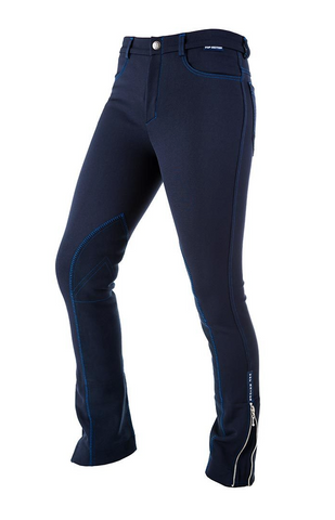 SUMMER SPECIAL! Top Reiter Women's Riding Pants with pockets - Navy