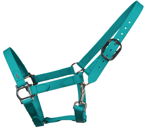SuperStrap Rubber Halter - Turqoise