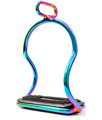 Rainbow Icelandic Safety Stirrups