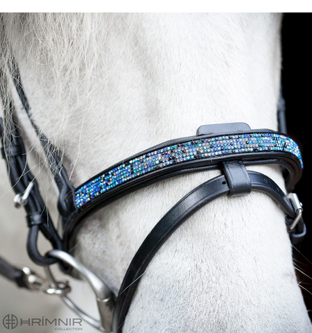 Hrimnir Flash Noseband - Blue Lagoon