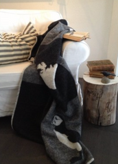 Puffin Wool Blanket