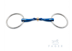 Fagers Titanium Anatomic Copper Roller Loose Rings bit - SALLY