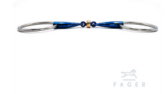 Fagers Titanium Anatomic Copper Roller - SALLY