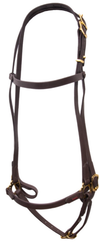 SuperStrap Bridle Brown - Low Maintenance
