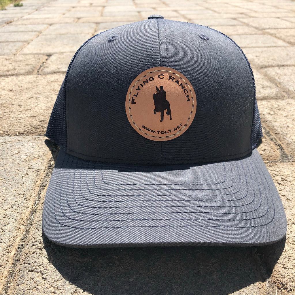 Flying C Ranch trucker hat