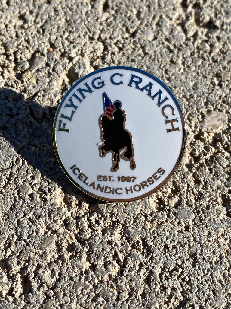 Flying C Ranch Pin