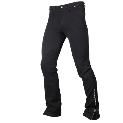Top Reiter Men's Riding Pants with pockets - Black
