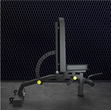 ELITE Adjustable Heavy Duty Incline/Decline  Bench(In Black