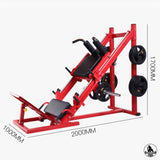 KingKong Leg Press & Squat Plate Loaded Machine 2 in 1 - 45º (Black Color) | Pre-order