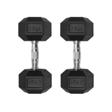 Rubber Hex Dumbbell | Arriving Mid Feb