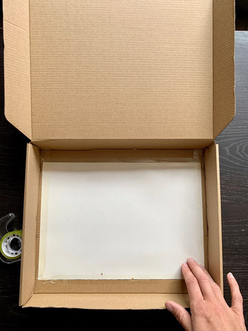 Wax paper for screen for DIY shadow puppet theatre