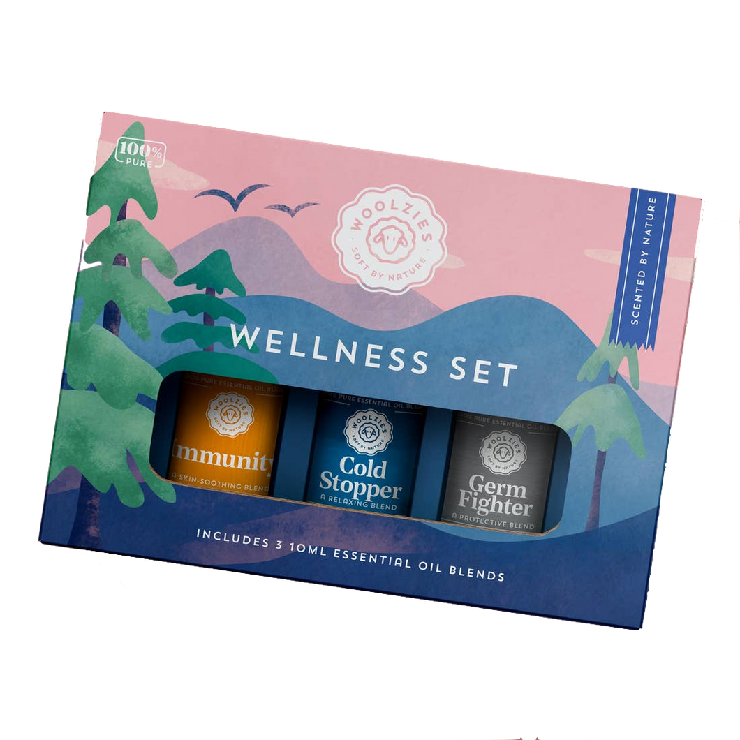 The Wellness Essential Blend Oil Collection