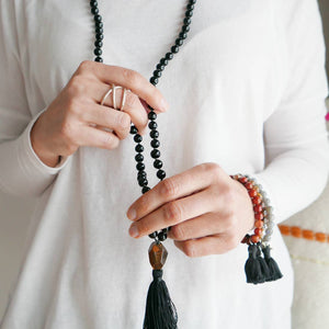 Strength & Protection Mala Kit - Onyx