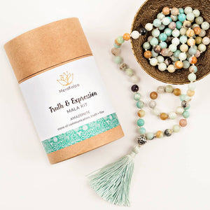 Truth & Expression Mala Kit - Amazonite