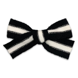 Cozy Sweater Hair Bows