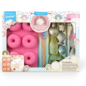 Donut Shoppe Ultimate Baking Party Set