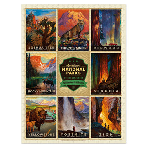 500 Piece Jigsaw Puzzle - National Parks