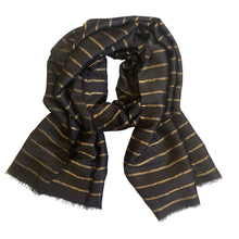 Load image into Gallery viewer, Striped Wool Scarf