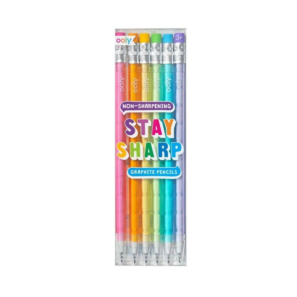 Rainbow Stay Sharp Pencils
