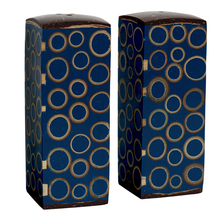Load image into Gallery viewer, Bamboo Inlay Salt & Pepper Set