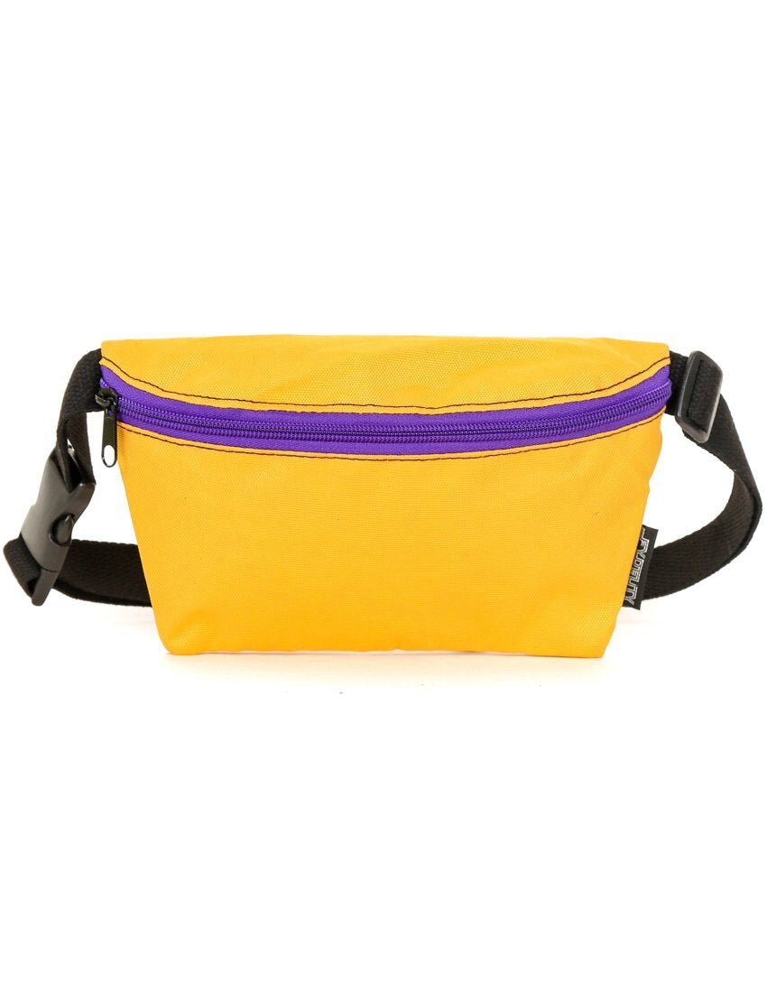 Gold & Purple Game Day Fanny Pack