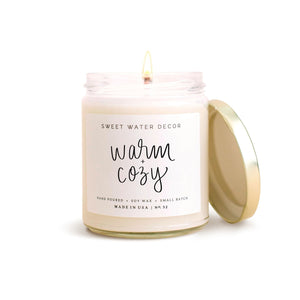 Warm and Cozy Soy Candle