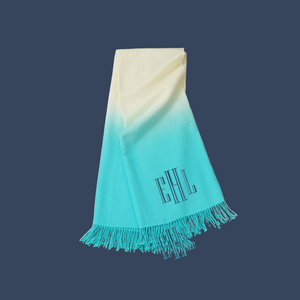 Dip Dyed Throw
