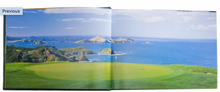 Load image into Gallery viewer, Golf Courses: Fairways of the World Genuine Leather