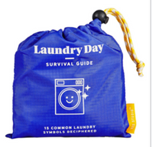 Load image into Gallery viewer, Laundry Day Survival Guide Laundry Sack