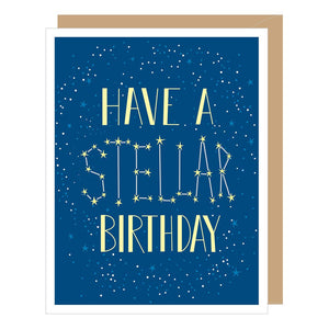 Stellar Birthday Card