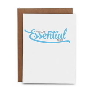 Essential to Me Card