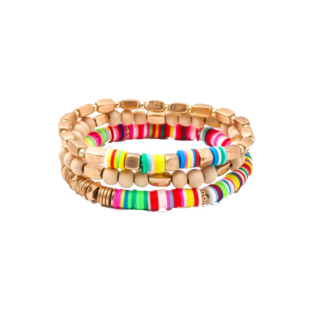 Happy Bracelets set of 3