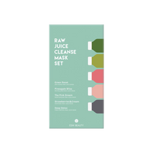 Load image into Gallery viewer, Raw Juice Cleanse Mask Set