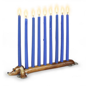 Doggie Menorah