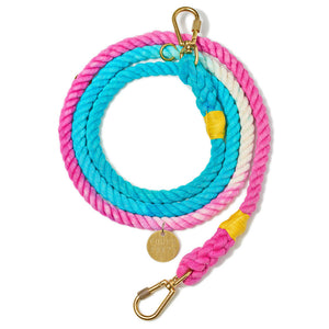 California Ombre Cotton Rope Dog Leash