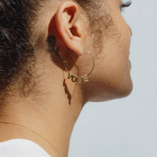 Load image into Gallery viewer, VOTE Earrings- Gold