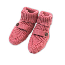 Load image into Gallery viewer, Heather Knit Baby Booties