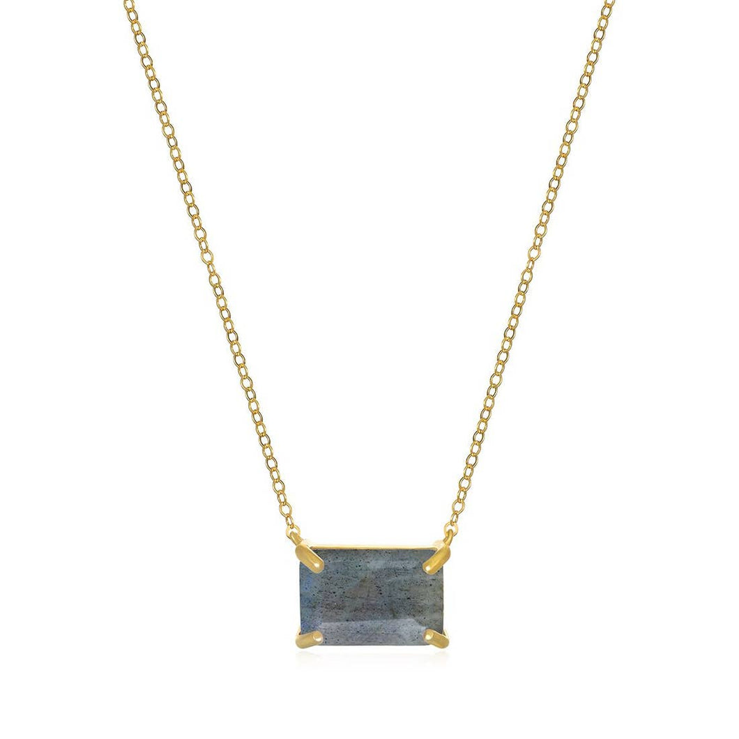 Chatham Labroradite Necklace