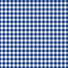Navy Gingham Wrapping Paper