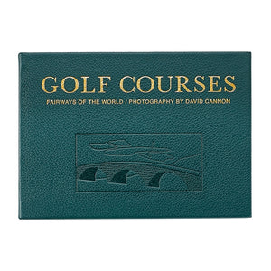 Golf Courses: Fairways of the World Genuine Leather
