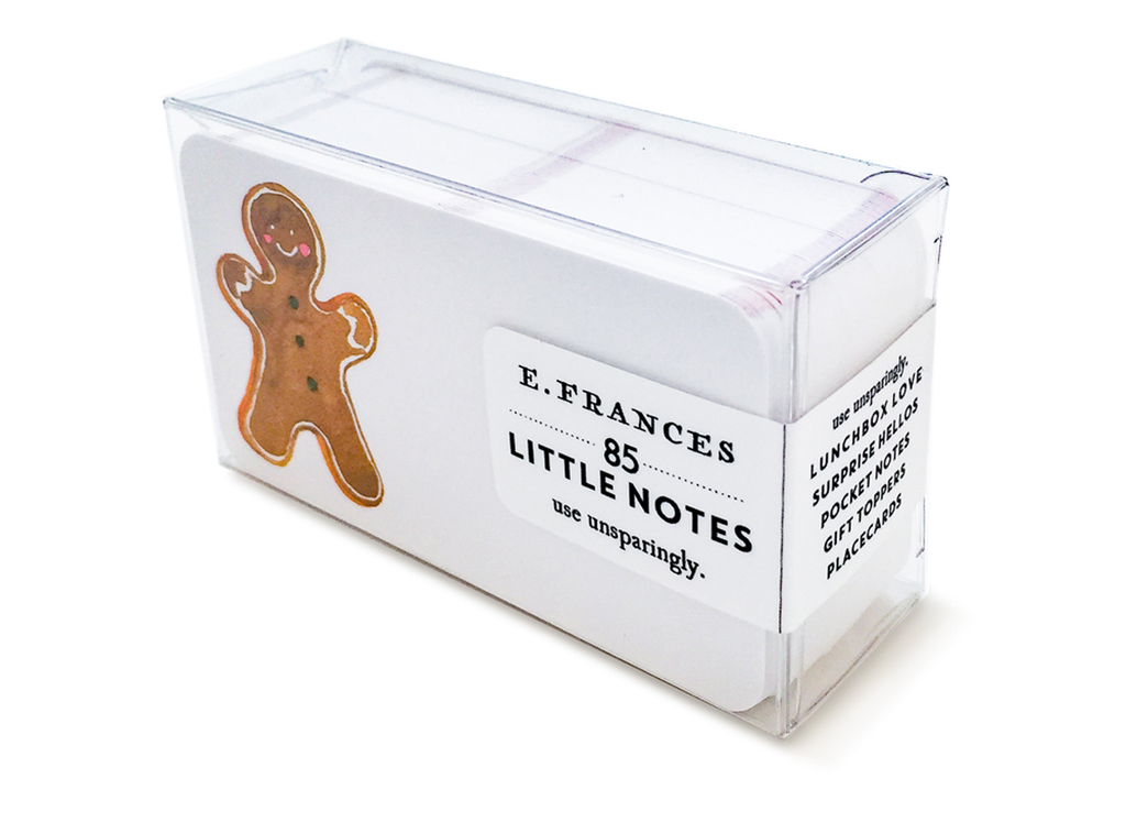 Gingerbread Little Notes