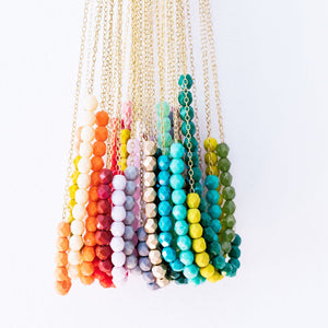 Pretty Beads Long Necklace