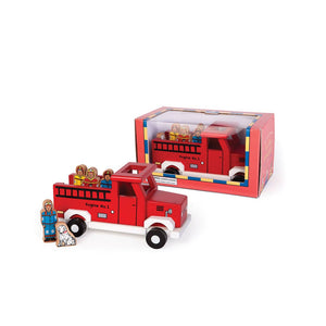 To The Rescue Magnetic Fire Truck
