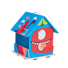 Load image into Gallery viewer, DIY 3D Wooden Birdhouse with Paint Kit