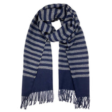 Load image into Gallery viewer, Striped Baby Alpaca Scarf