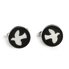 Load image into Gallery viewer, Dove Cufflinks