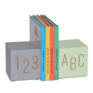 ABC 123 Bookends - 2 options