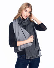 Load image into Gallery viewer, Reversible Alpaca  Wrap - Obsidian